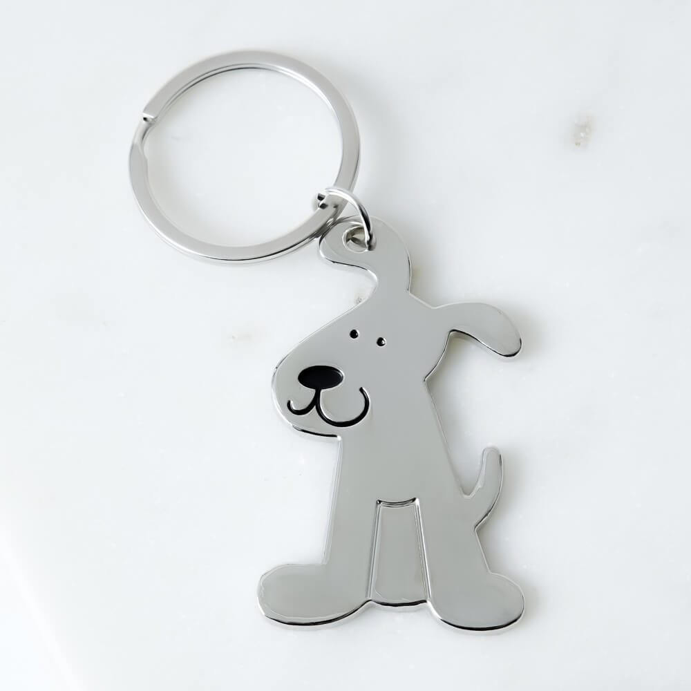 Image of Super Pawdorable Rescue Pup Keychain