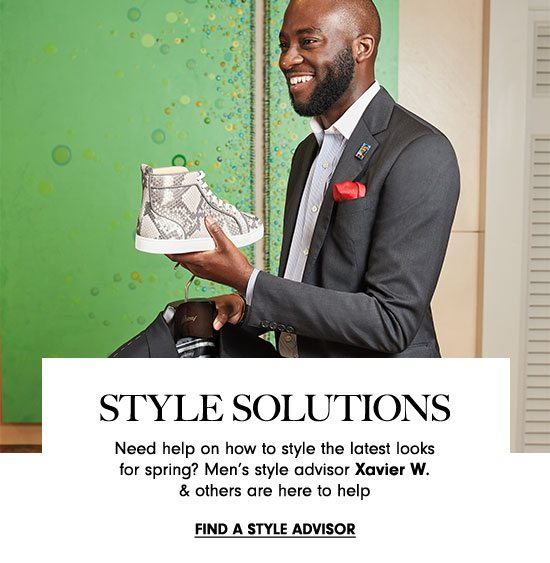 Style Solutions - Find a Style Advisor