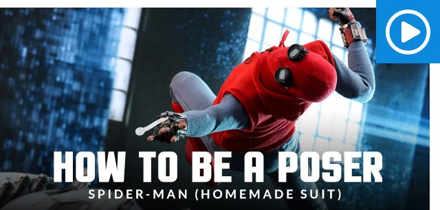 How to Be a Poser: Spider-Man (Homemade Suit)