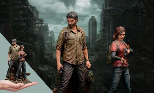 SHIPPING SOON The Last of US - Joel and Ellie 1:9 Scale Figures by Mamegyorai