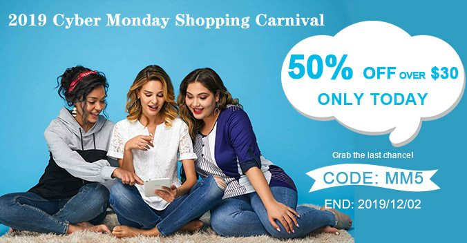 2019 Cyber Monday Shopping Carnival