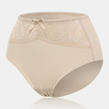 High Waisted Lace Tummy Shaping Panties