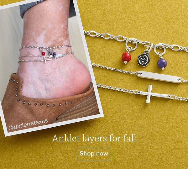 Anklet layers for fall - Shop now
