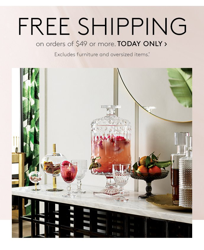 Cb2 Free Shipping >> Before You Brunch Free Shipping Cb2 Email Archive