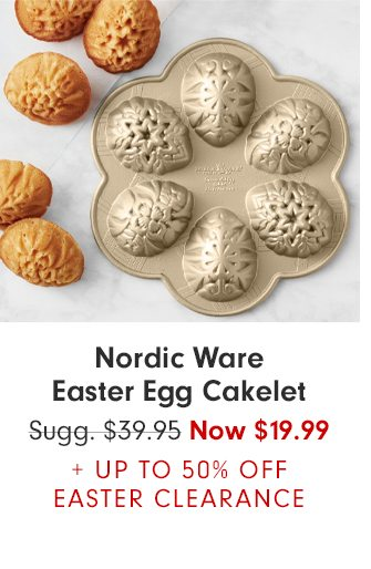 Nordic Ware Easter Egg Cakelet - Now $19.99 + UP TO 50% OFF EASTER CLEARANCE