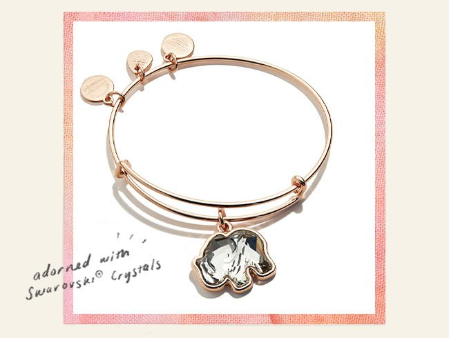 Shop the Elephant Charm Bangle