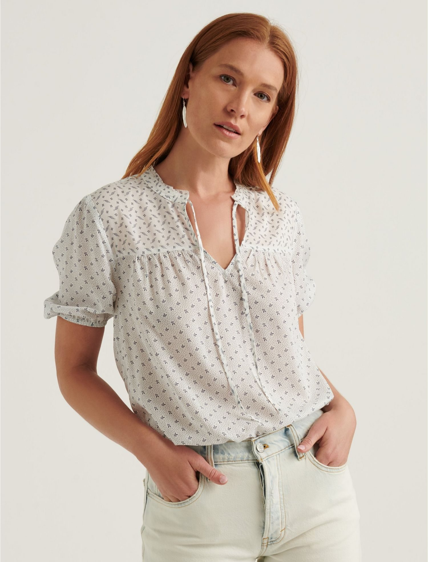 Clara Short Sleeve Top