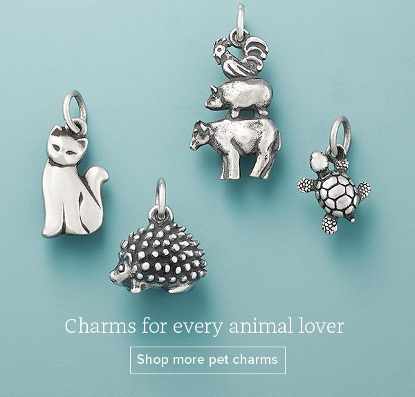 Charms for every animal lover - Shop more pet charms