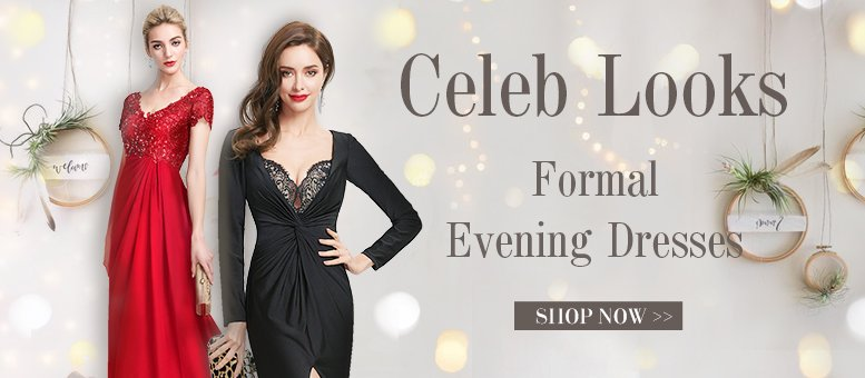 Look Like A Celeb In These Formal Evening Dresses Jjshouse