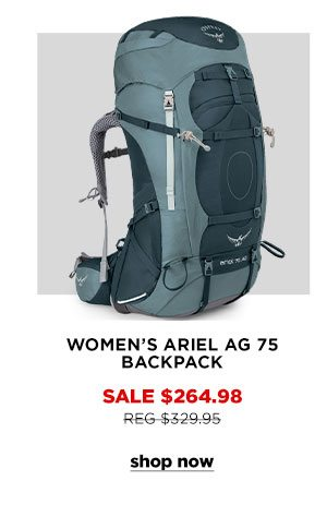 Women's Ariel AG 75 Backpack - Click to Shop Now