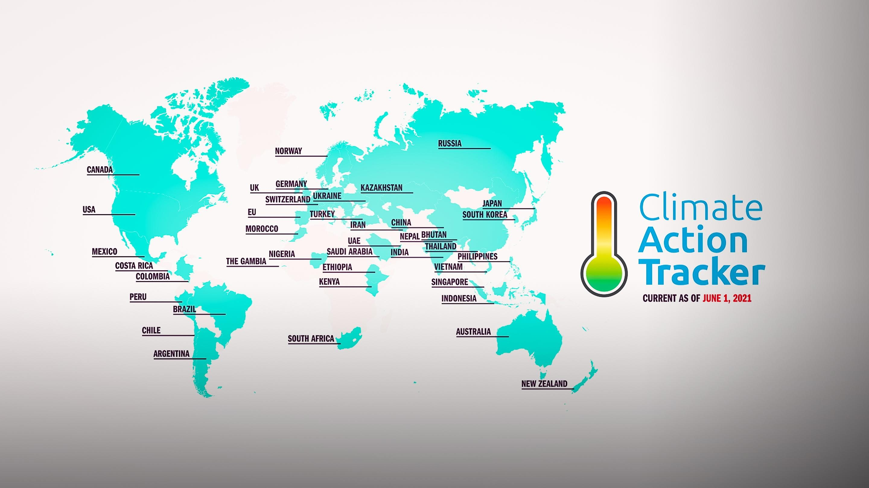 An idea from TED by Climate Action Tracker entitled The state of the climate crisis in 2021