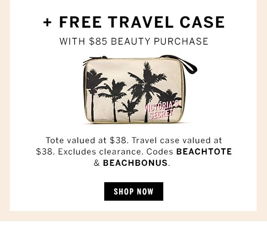 new products 37986 67669 Starts today: FREE beach tote - Victoria's Secret Email Archive