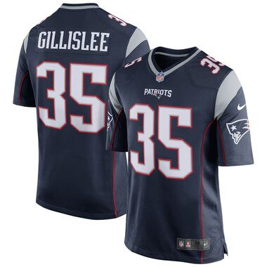 Mike Gillislee New England Patriots Nike Game Jersey - Navy