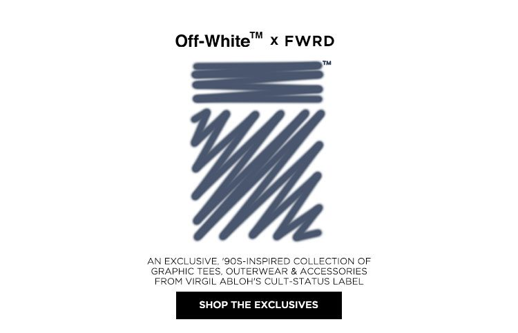 Off-White x FWRD - Shop the exclusives