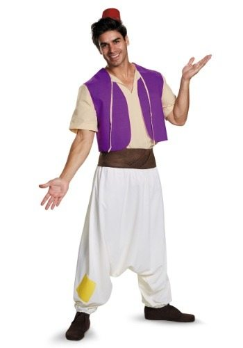 Adult Aladdin Street Rat Costume