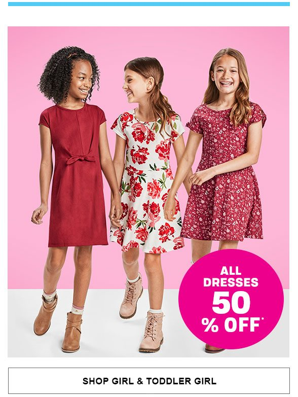 50% Off All Dresses