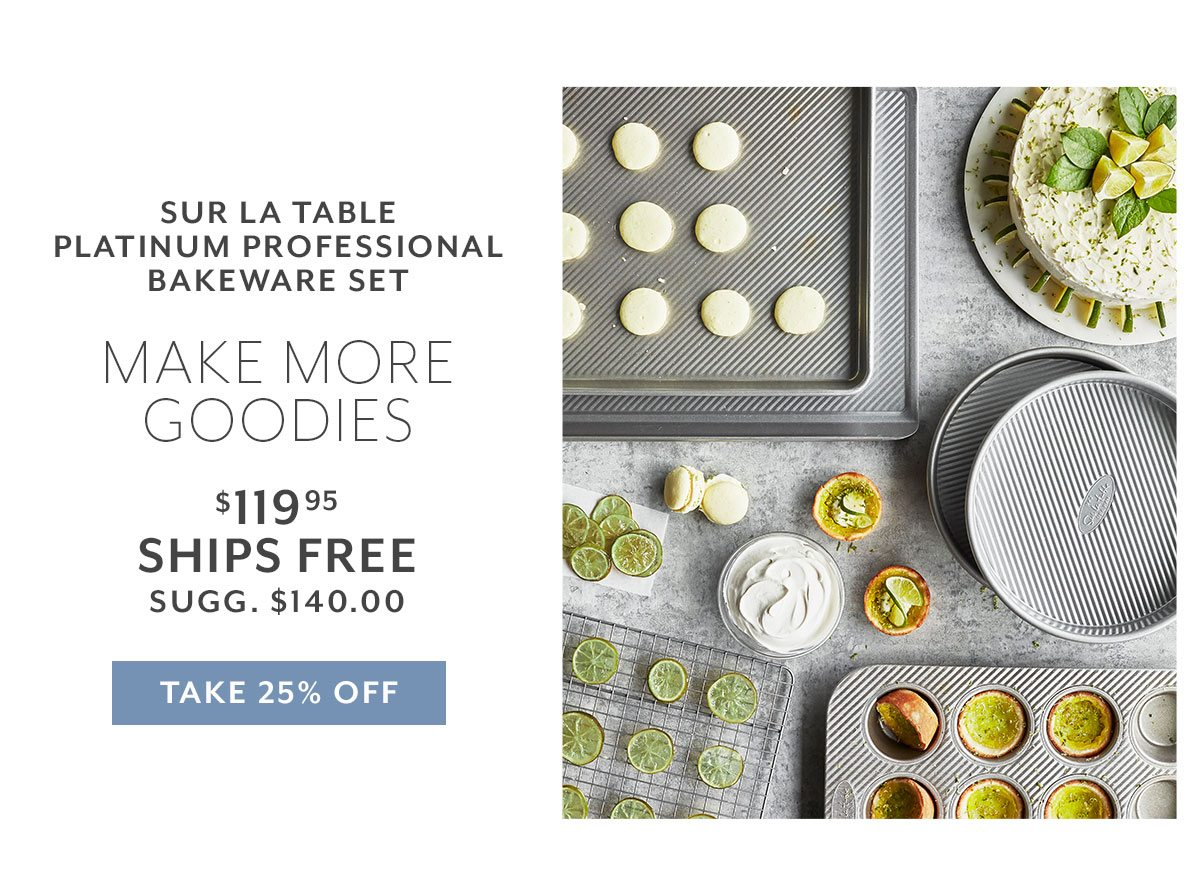 Sur La Table Platinum Professional Bakeware Set