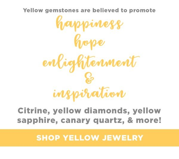 Find your symbol of the sun with stunning yellow jewelry
