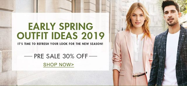 Early spring outfit ideas 2019 Pre sale 30% off SHOP NOW>