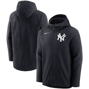 Nike New York Yankees Navy Authentic Collection Pregame Performance Full-Zip Hoodie