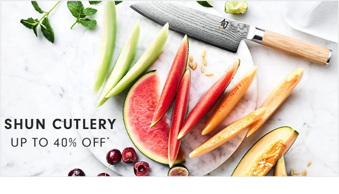 SHUN CUTLERY - UP TO 40% OFF*
