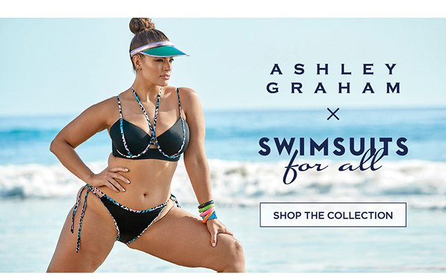 Ashley Graham x Swimsuits for all - Shop The Collection