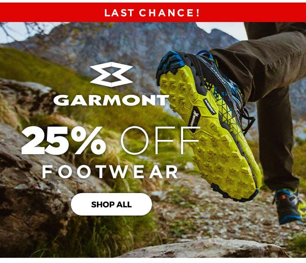 Garmont 25% OFF Footwear - Click to Shop all