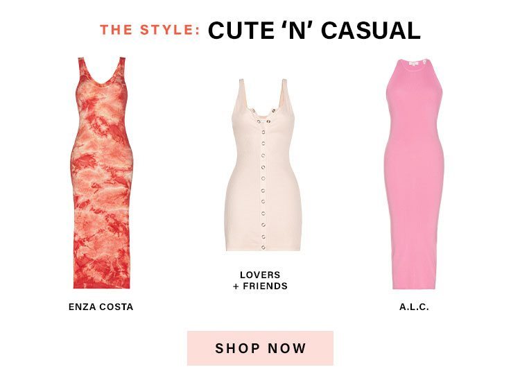 The Official Dresses of Summer: The Style: Cute 'n' Casual - Shop Now