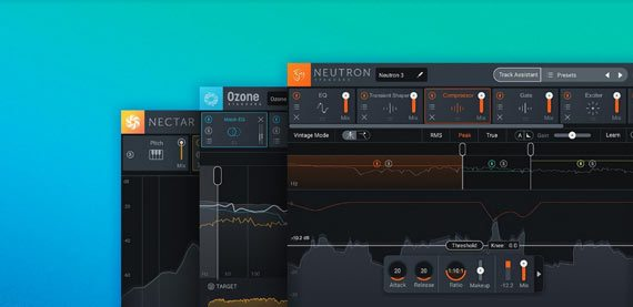 Summer Sale: Up to 60% OFF iZotope Mastering + Mixing Software!