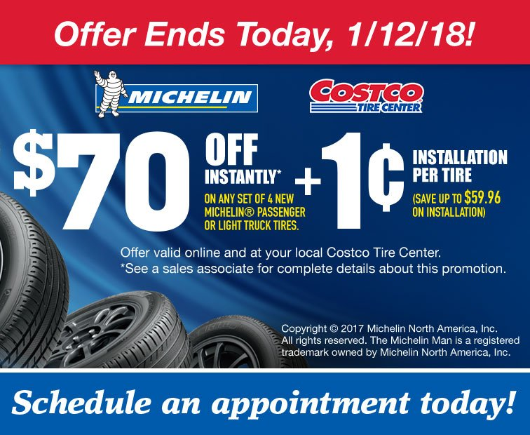 Ends Today 1 Installation On Michelin Tires Plus Pre Order 50