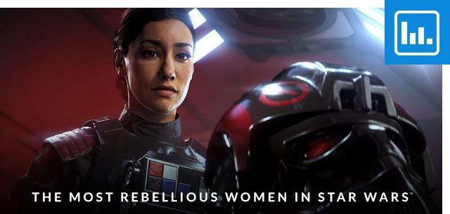 The Most Rebellious Women in Star Wars™