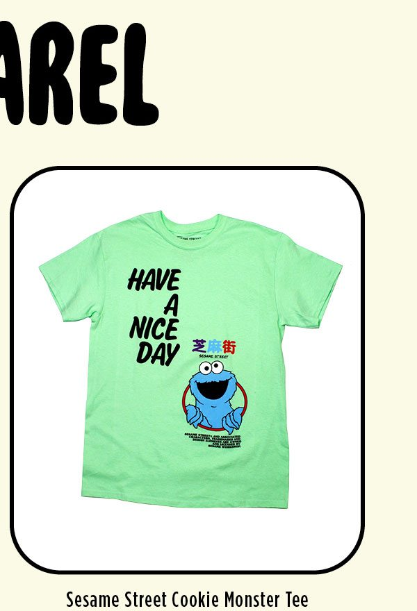 Have a Nice Day - Cookie Monster T-Shirt