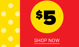 $5 Clearance. Shop Now.
