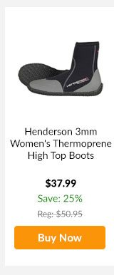 Henderson 3mm Women's Thermoprene High Top Boots - Buy Now