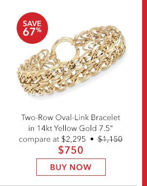 Oval-Link Bracelet. Buy Now
