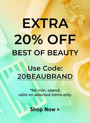 Extra 20% Off Best of Beauty