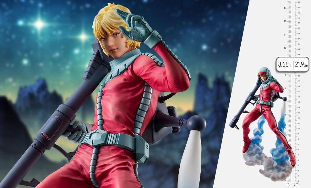 Char Aznable Normal Suit Version Collectible Figure by MegaHouse