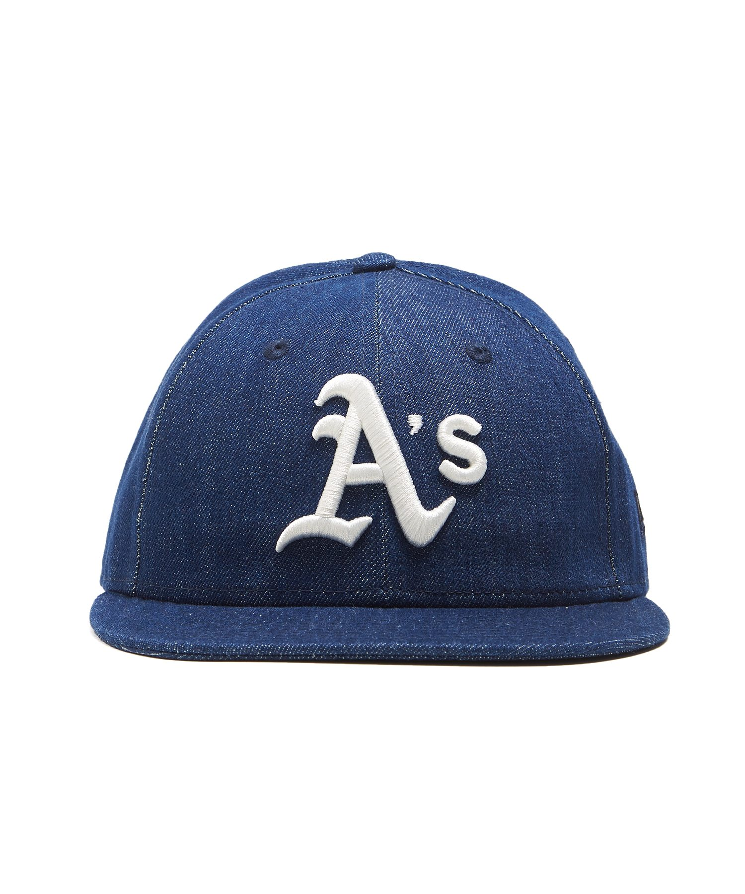 separation shoes 8d9f4 33dc9 TODD SNYDER + NEW ERA OAKLAND ATHLETICS CAP IN CONE DENIM