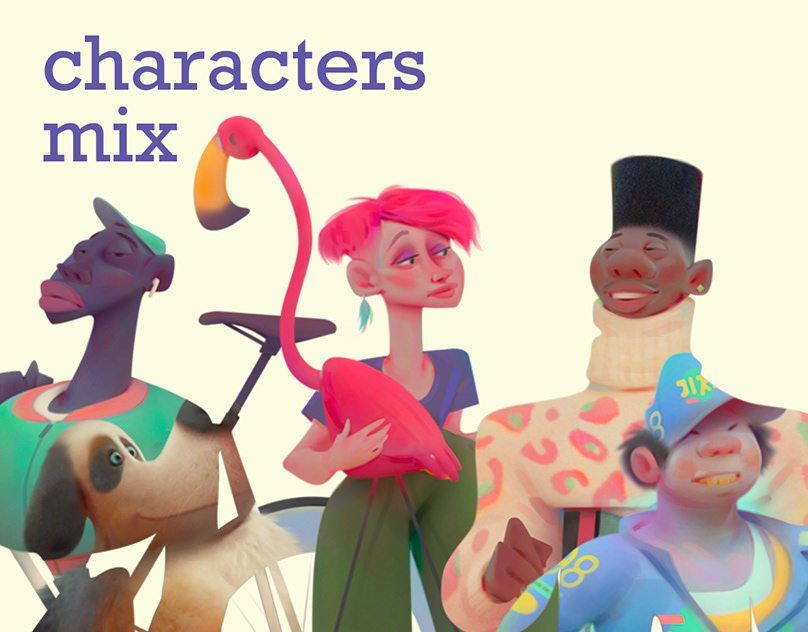characters mix