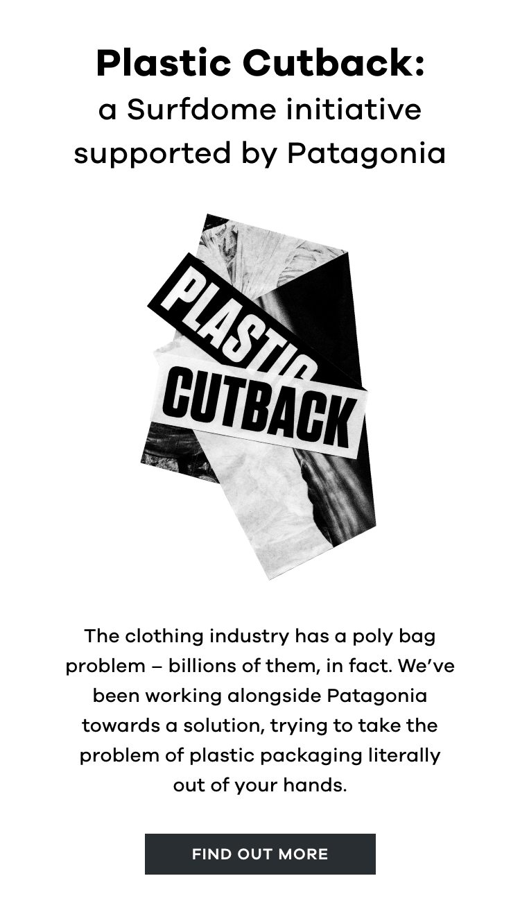 Plastic Cutback | Find out more