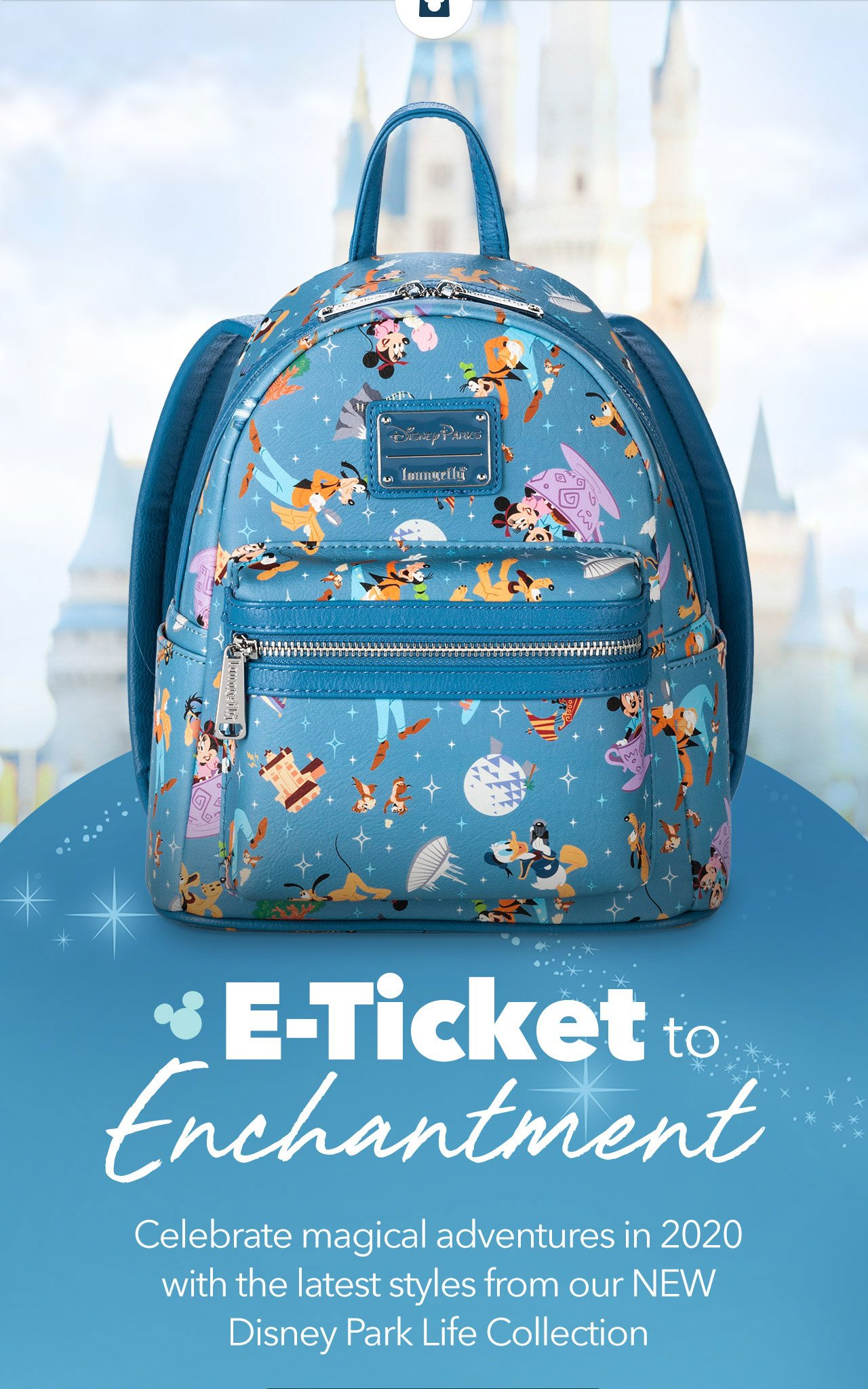 E-Ticket to Enchantment | Celebrate magical adventures in 2020 with the latest styles from our NEW Disney Park Life Collection.