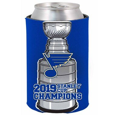 St. Louis Blues 2019 Stanley Cup Champions 12oz. Can Cooler