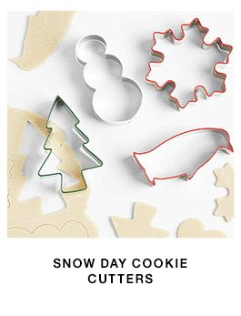 snow day cookie cutters