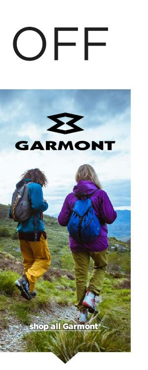 25% OFF Garmont - Click to Shop All