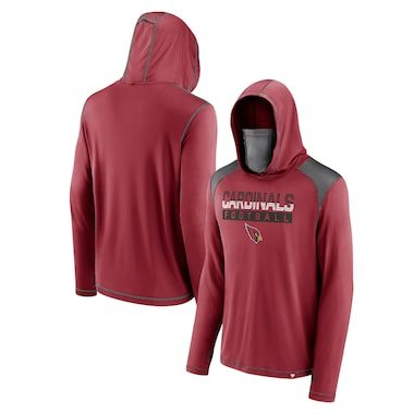 Arizona Cardinals Fanatics Branded First Sprint Transitional Pullover Hoodie with Face Covering – Cardinal