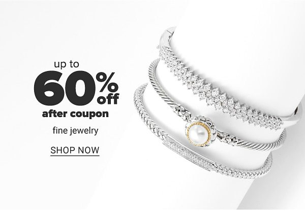 Up to 60% off after coupon fine jewelry. Shop Now.