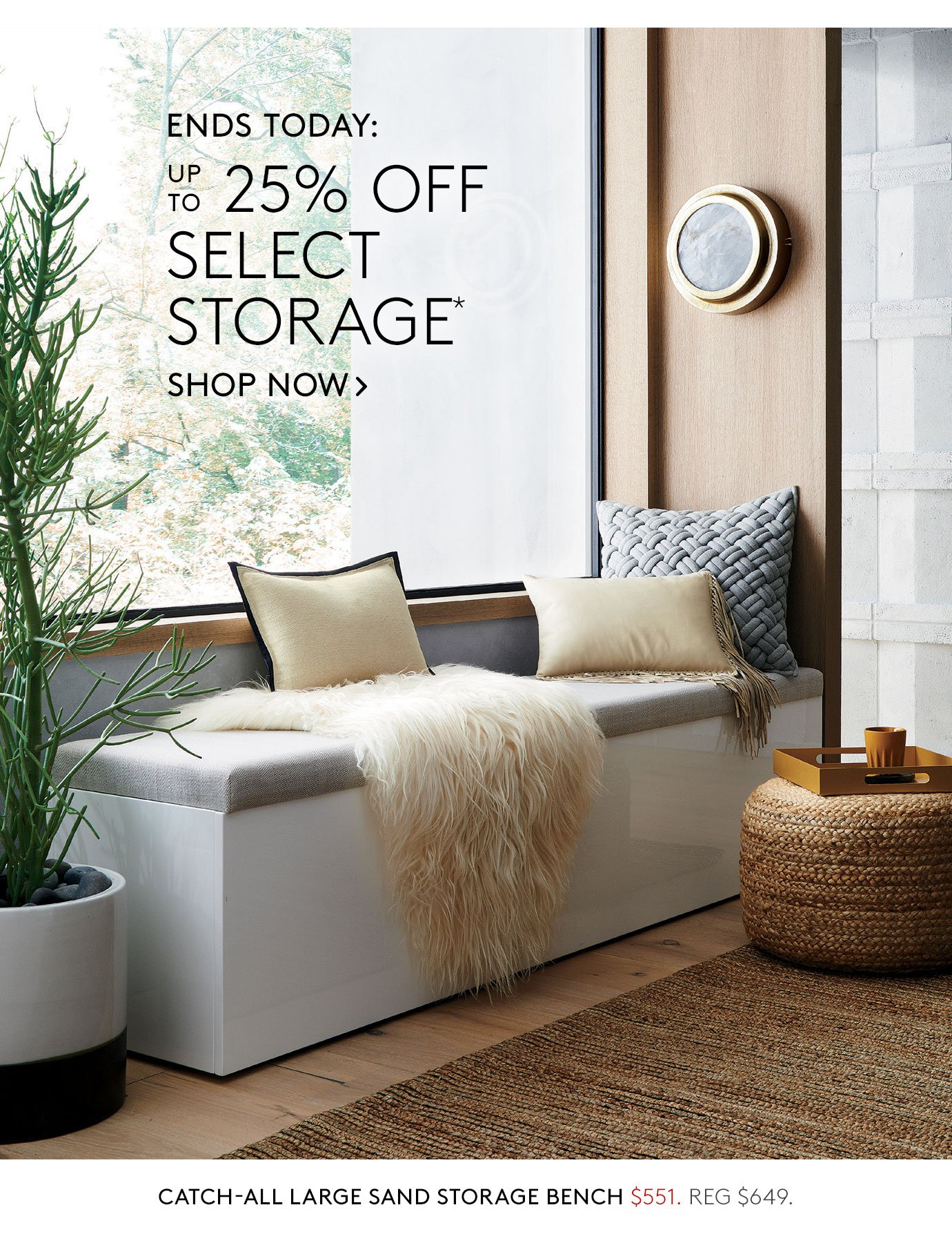 Ends Today: Up To 25% Off Select Storage