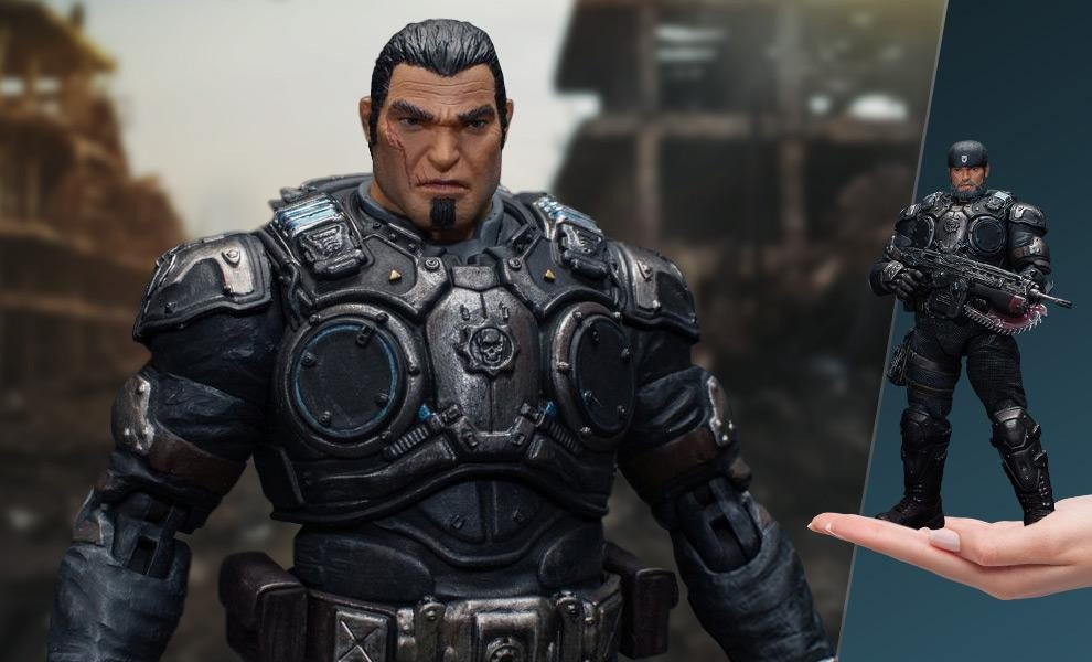 Marcus Fenix Collectible Figure (Storm Collectibles)