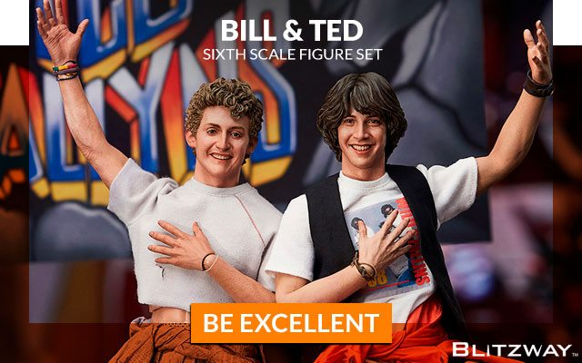 Bill & Ted Sixth Scale Figure Set by Blitzway