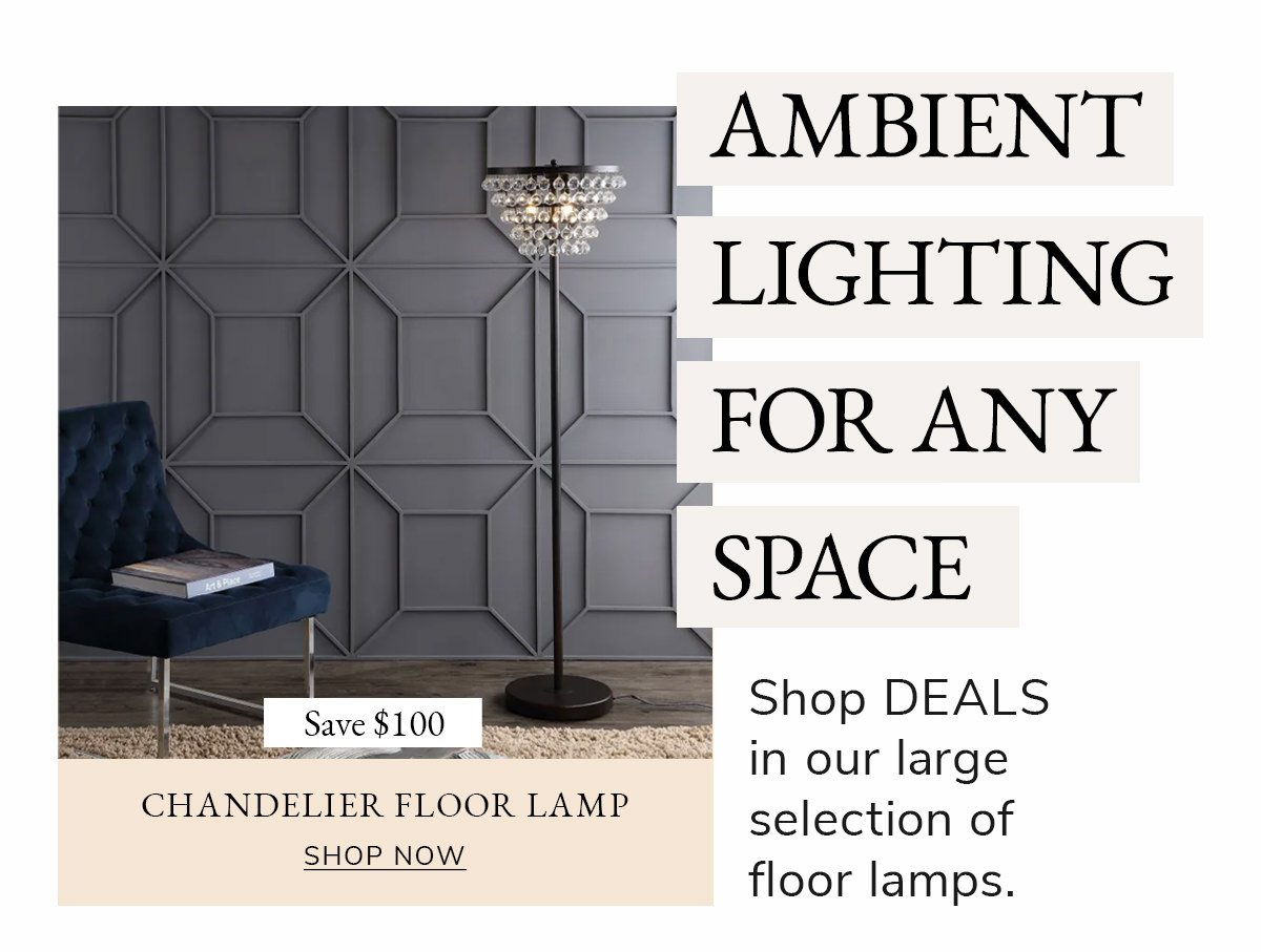 Ambient Lighting For Any Space   SHOP NOW